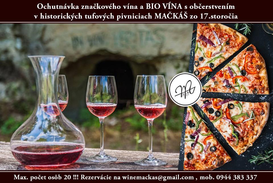 ochutnávka / degustácia bio vína 2018